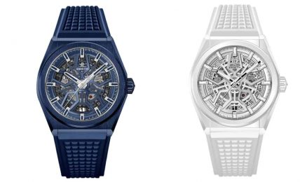 zenith defy blue and white cover