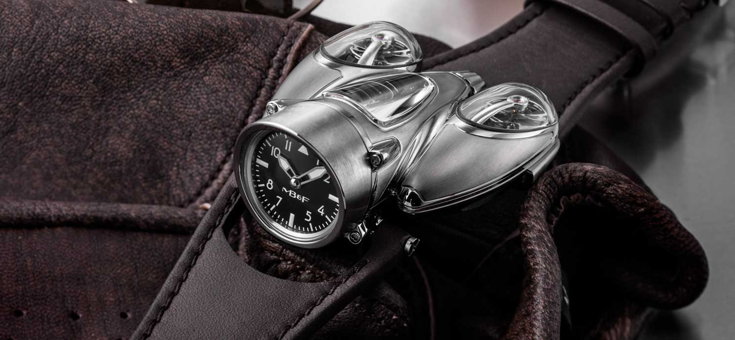 MB&F HOROLOGICAL MACHINE no. 9