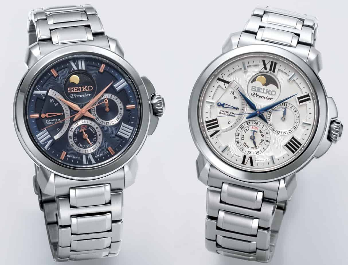 Seiko premier moonphase 2019