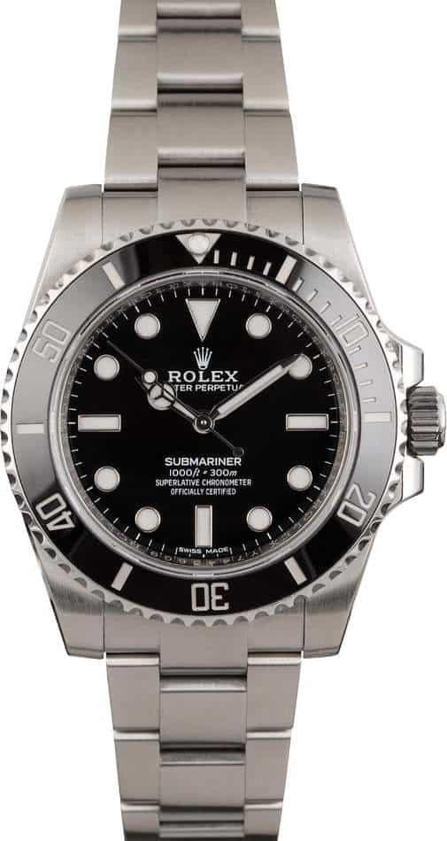 rolex submariner nodate 114060