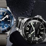 שעוני סדרת ה-SeaQ החדשה של גלאסהוטה אוריגינל. מקור - TimeAndWatches.