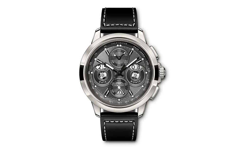 שעון ה-IWC Ingenieur-Perpetual Digital Date Month טיטניום. מקור - WatchTime.