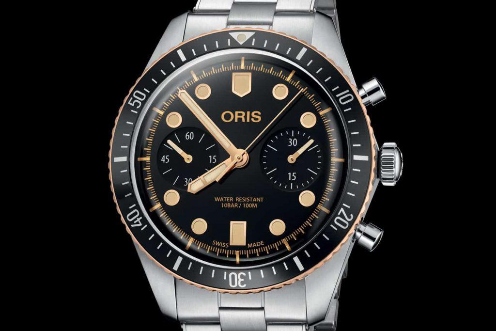 שעון אוריס צלילה 65 כרונוגרף. מקור - Monochrome.