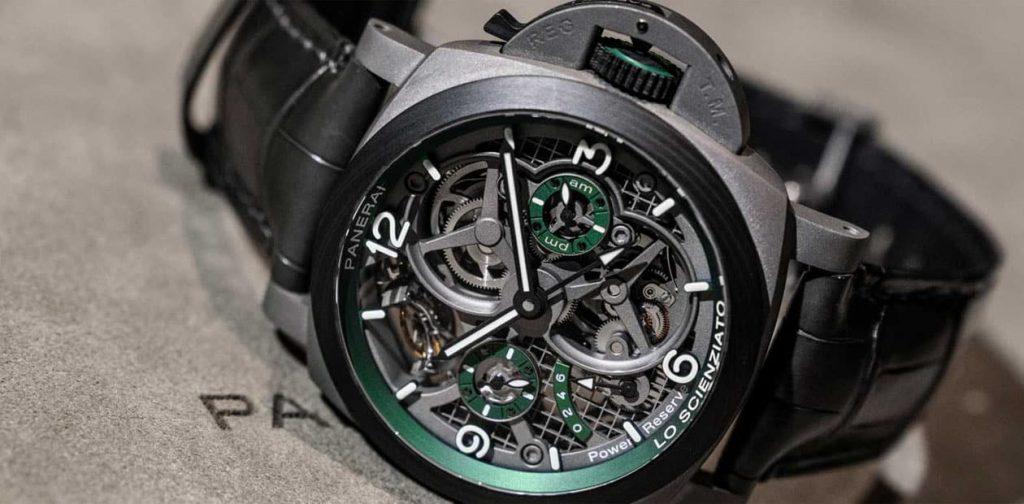 שעון פנריי מסדרת Lo-Scienzato לשנת 2019. מקור - Revolution.