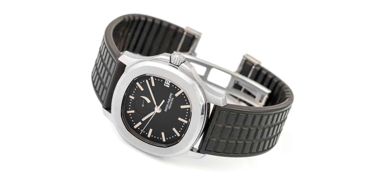 אב טיפוס נדיר של שעון פטק פיליפ אקוונאוט. מקור - Hodinkee.