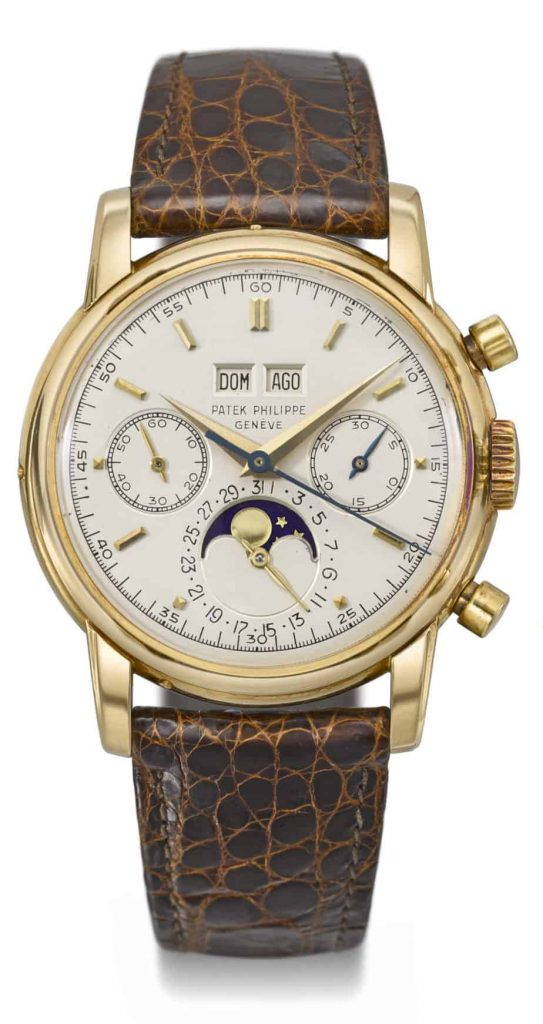 שעון פטק פיליפ רפרנס 2499 משנת 1977. מקור - WatchPro.