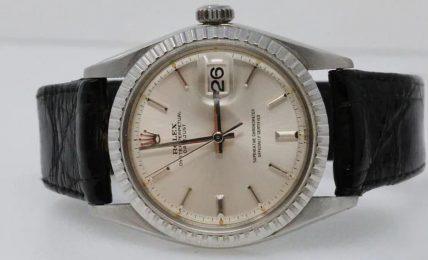 שעון רולקס דייטג'אסט שהיה שייך לשחקן מרלון ברנדו. מקור - Hodinkee.