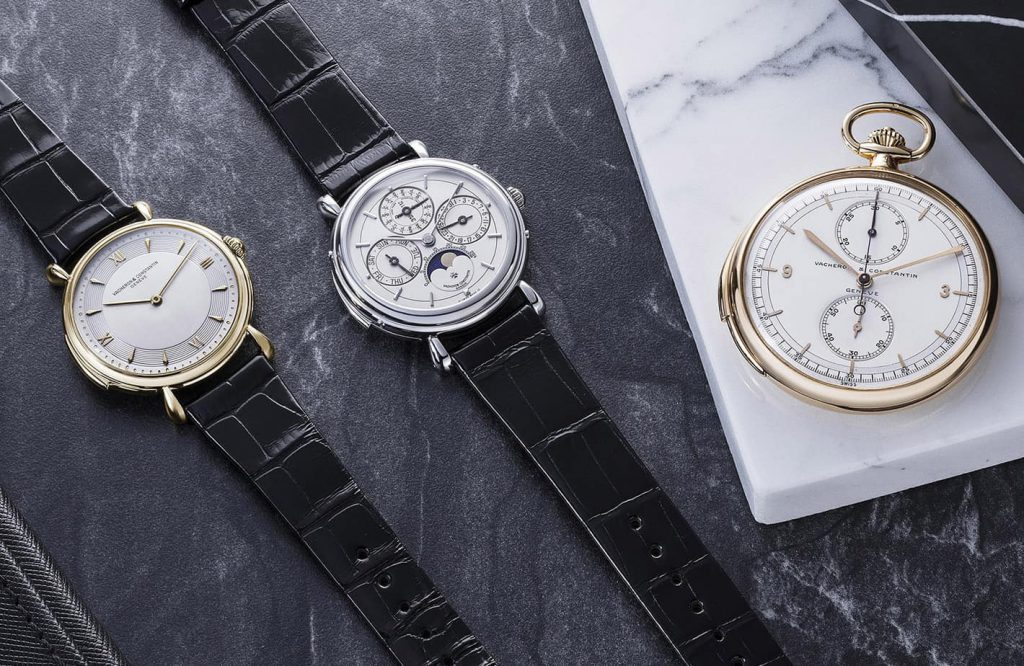 שעונים מסדרת ה-Les Collectionneurs של וושרון קונסטנטין. מקור - WatchesbySJX.