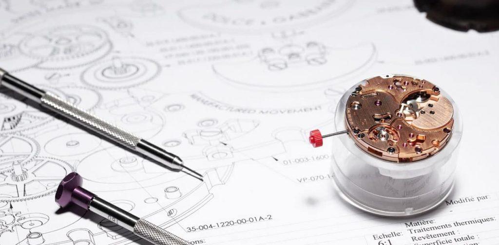 מנגנון DG01 של דולצ'ה וגבאנה, המנגנון המכאני הראשון מבית החברה. מקור - Monochrome Watches.