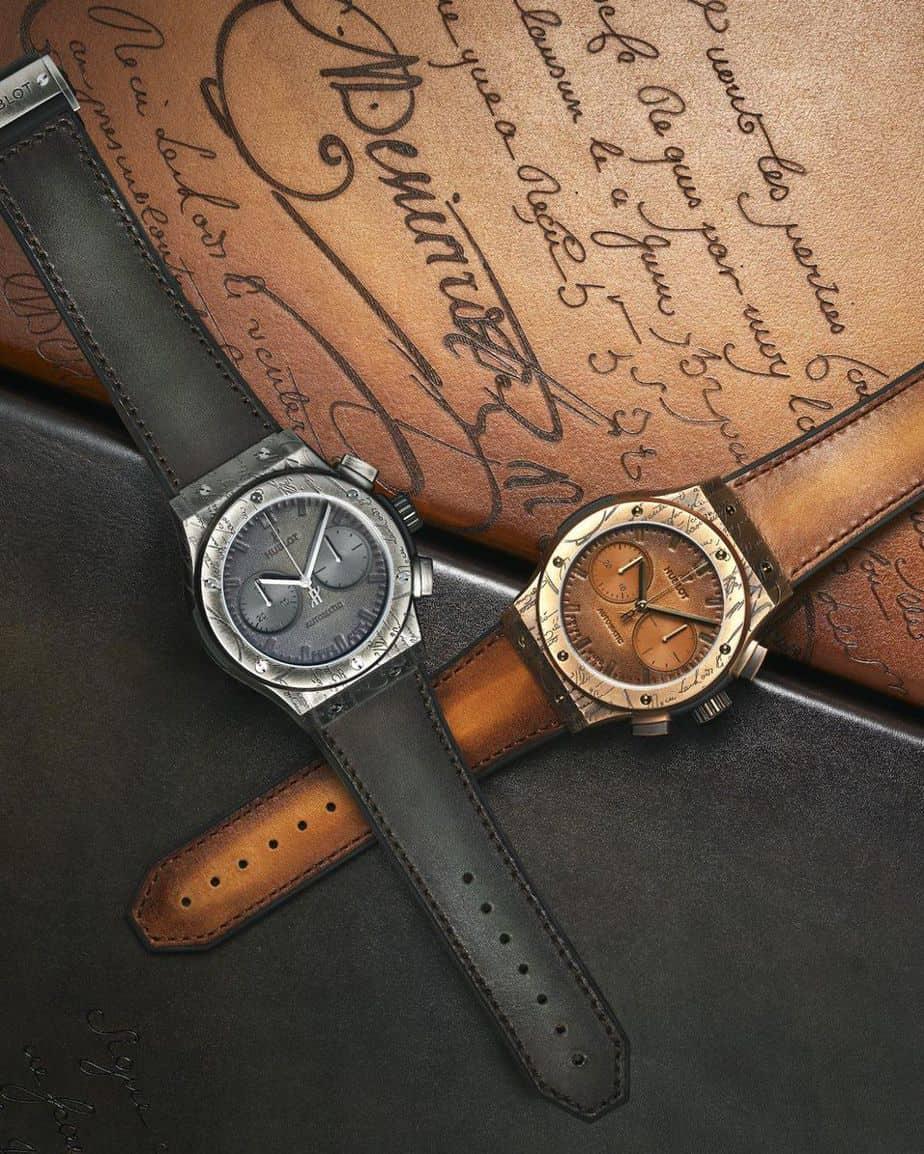 שעוני ההובלו קלאסיק פיוז'ן ברלוטי כרונוגרף. מקור - הובלו.