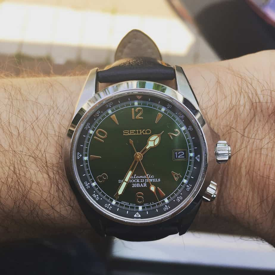 Seiko Alpinist Green