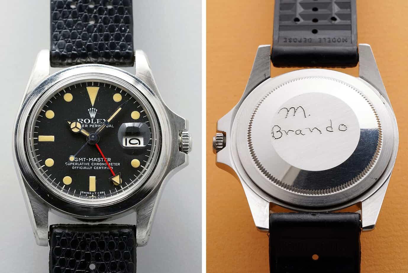 ה-GMT MASTER נטול הבזל של מרלון ברנדו (מקור: הודינקי)