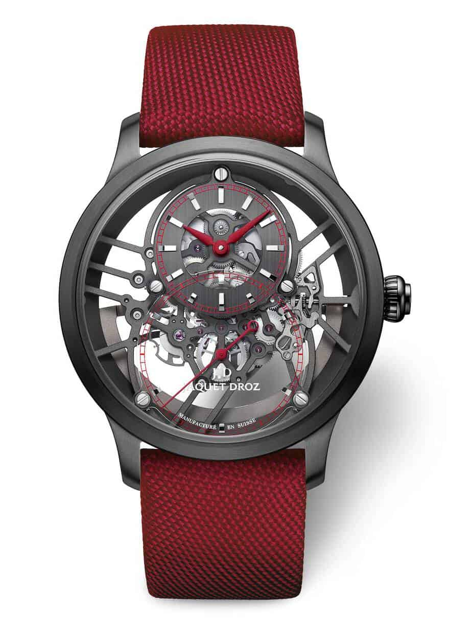 Jaquet Droz Grande Seconde Skelet One Red Onle watch