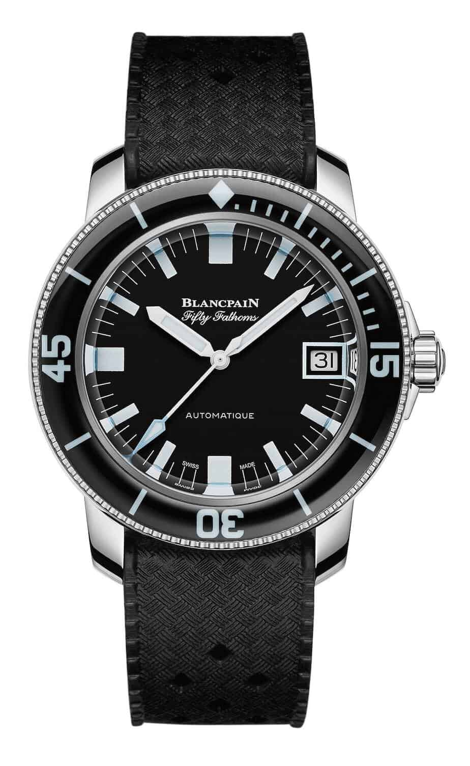 blancpain fifty fathoms only watch 2019