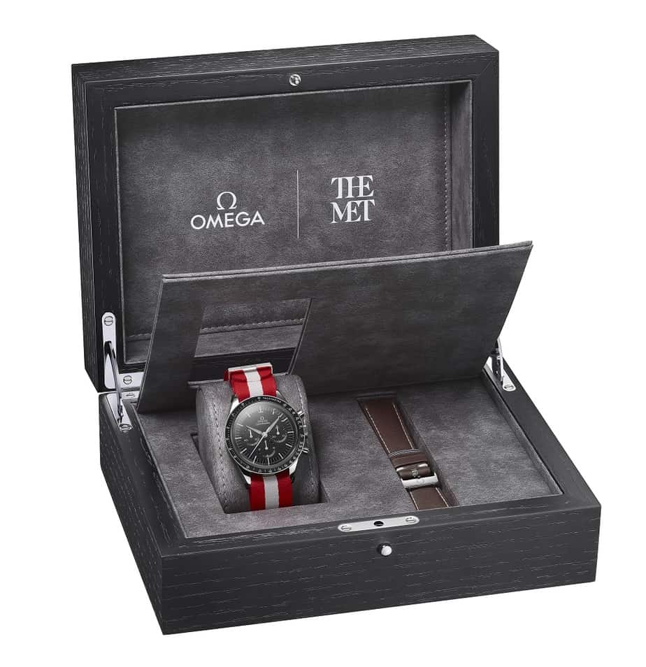 omega speedmaster first watch in space box