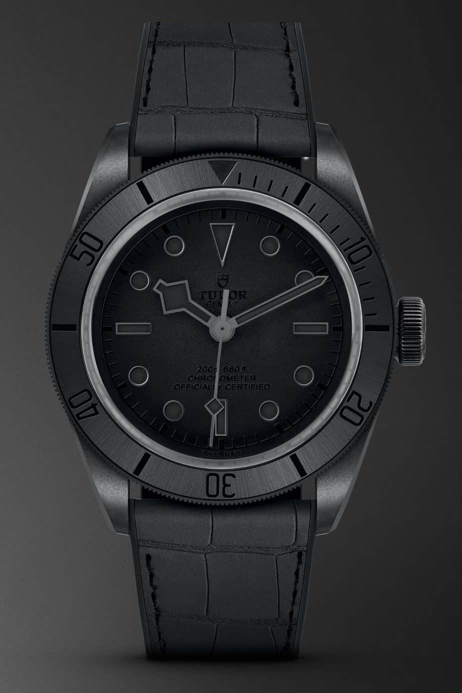 tudor black bay PVD ceramic only watch 2019