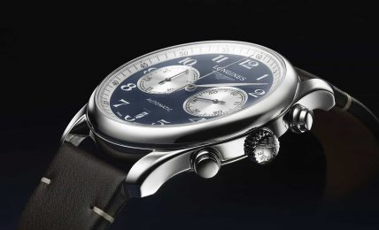 longines master collection chrono buchrer cover