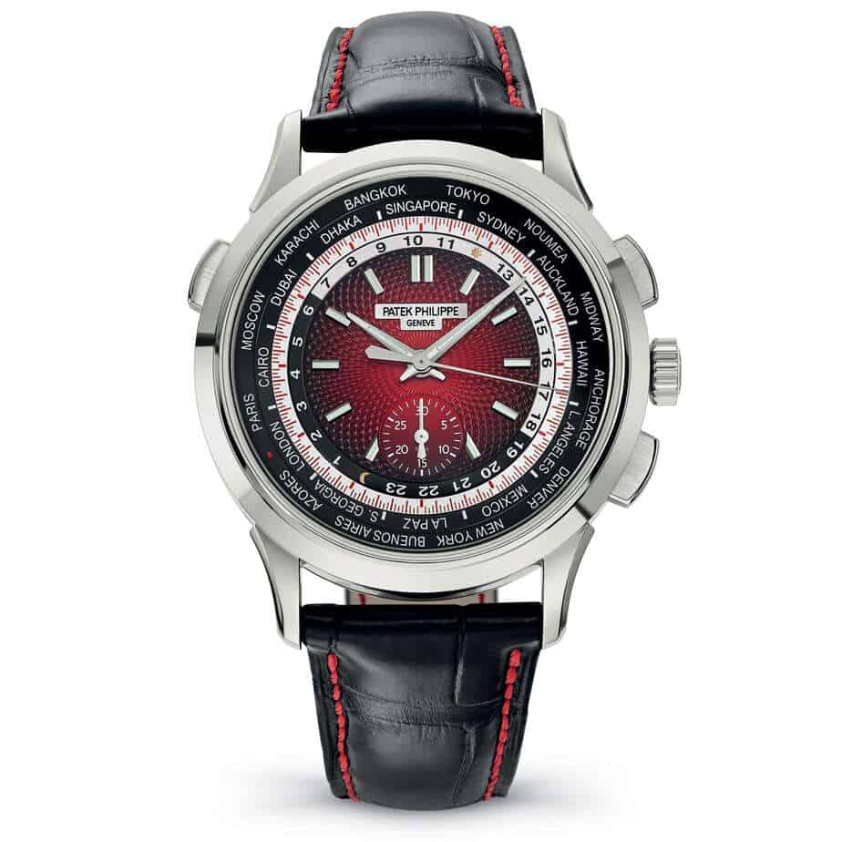 Patek philippe world timer chronograph 2019
