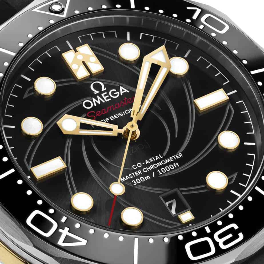 omega seamaster 300 on her majestys secret service 50th