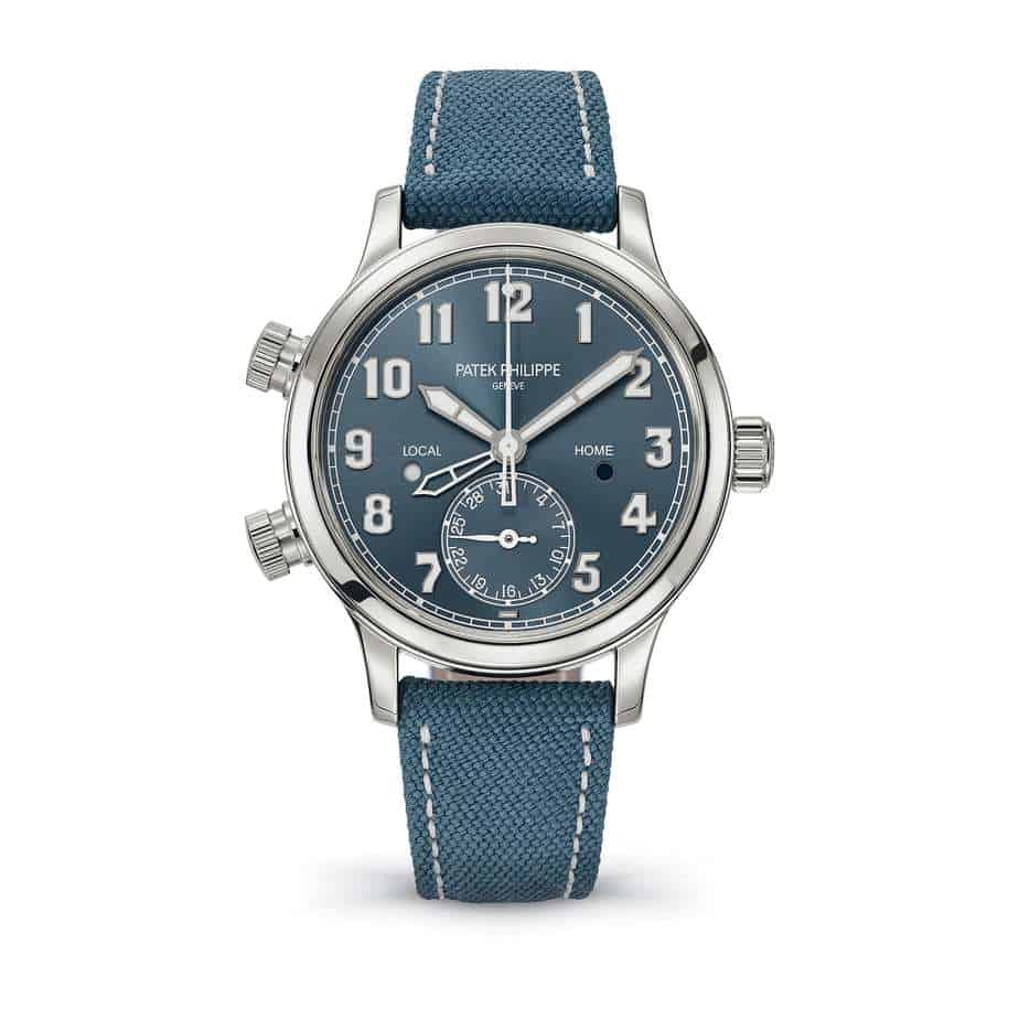 patek philippe calatrava pilot ladies steel 2019