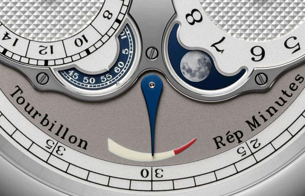 שעון ה-Astronomic Souveraine של F.P Journe. מקור - TimeandWatches.