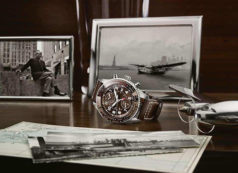 IWC TIMEZONER NEW YORK 80 YEARS BEAUTY