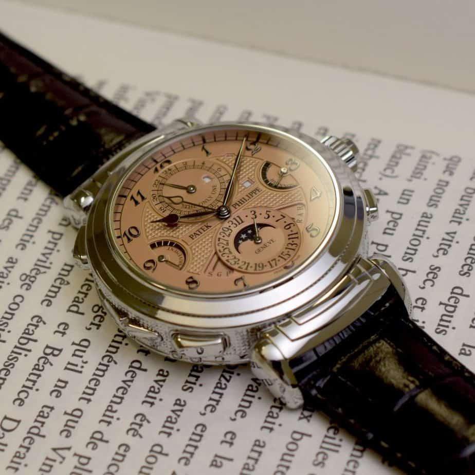 פטק פיליפ 6300A - השעון היקר ביותר בעולם. מקור - Monochrome Watches.