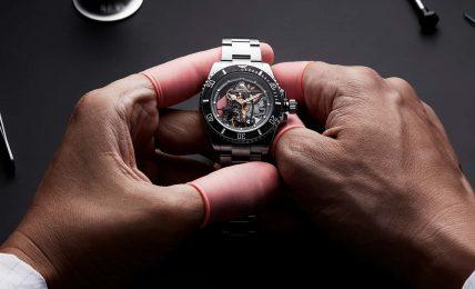 פרויקט אנדראה פירלו של סדנת ARTISANS DE GENÈVE. מקור - Monochrome Watches.