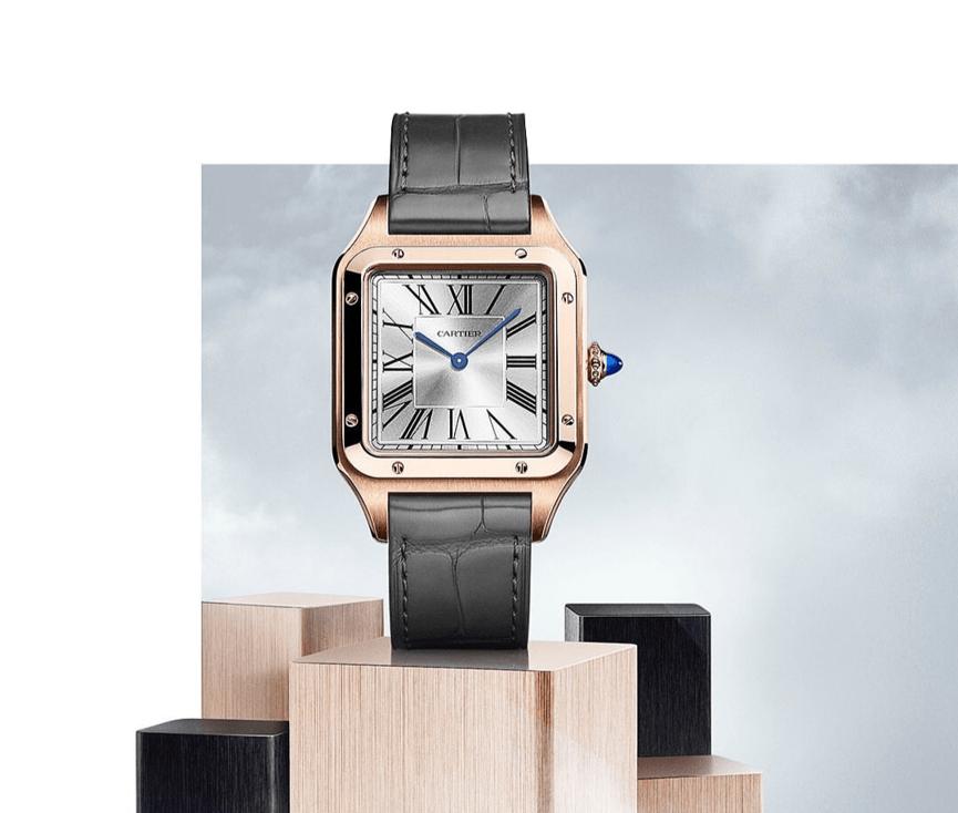 קרטייה סנטוס, שעון הטייסים של קרטייה. מקור : אינסטגרם קרטייה הרשמי
