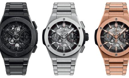סדרת שעוני האינטגרל החדשה של הובלו.