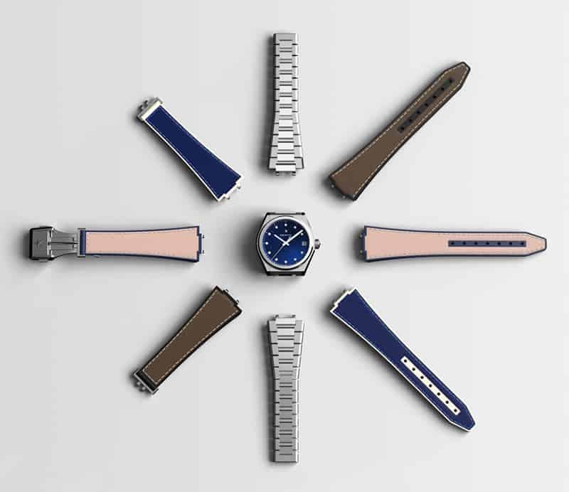 מבחר הרצועות של סדרת שעוני הזניט דפיי מידנייט קלאסיק. מקור - TimeandWatches.