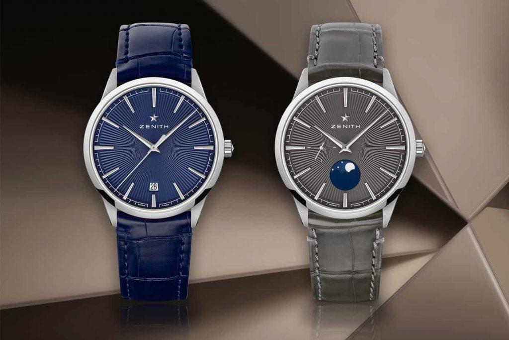 שעוני הזניט עלית קלאסיק והמונפייז החדשים. מקור - Monochrome Watches.