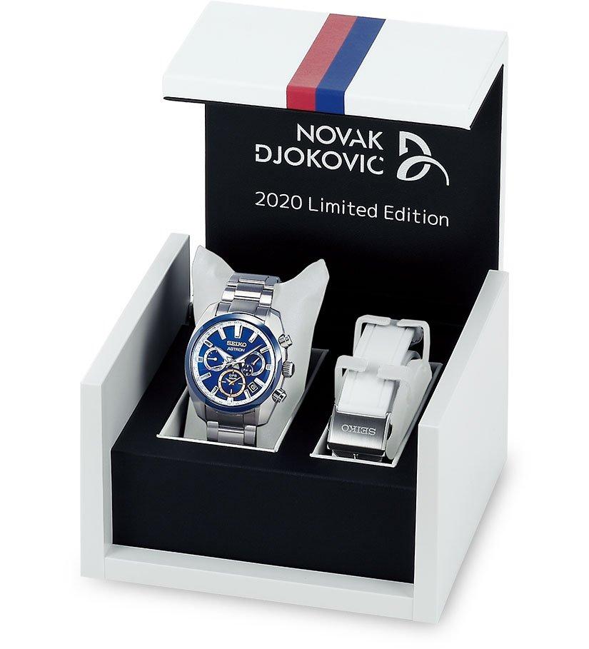 סייקו תשווק את השעון עם רצועת מתכת וצמיד סיליקון לבן. מקור - TimeandTideWatches.