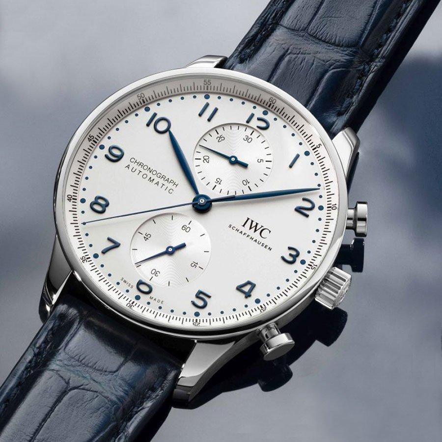 שעוני הכרונוגרף החדשים של IWC עם מנגנון האינהאוס. מקור - TimeandWatches.