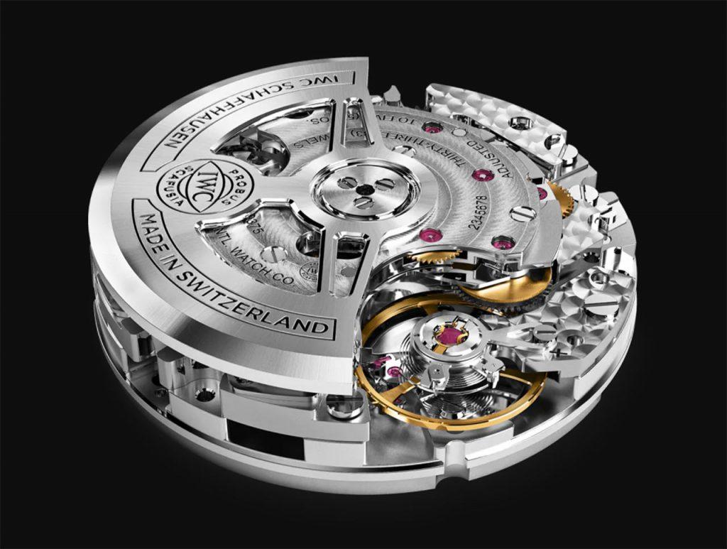מנגנון 69000 של IWC לשעוני הפורטוגז כרונוגרף החדשים. מקור - TimeandWatches.