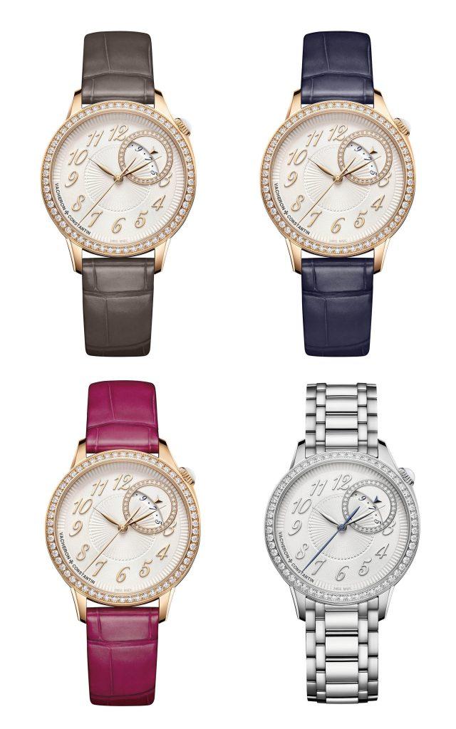"""שעוני ה-35 מ""""מ מקולקציית ה-Égérie של וושרון קונסטנטין. מקור - Monochrome Watches."""