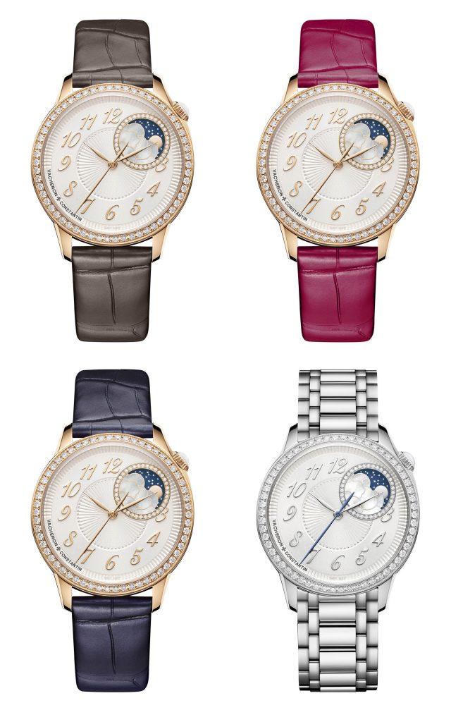"""שעוני ה-37 מ""""מ מקולקציית ה-Égérie של וושרון קונסטנטין. מקור - Monochrome Watches."""
