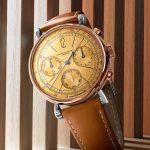 אודמר פיגה Remaster01 כרונוגרף. מקור - Monochrome Watches.