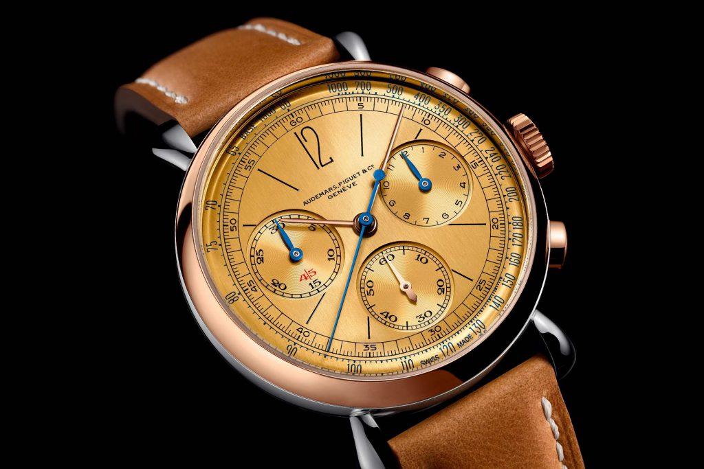 שילוב של זהב ורוד 18 קראט עם פלדת אל חלד. מקור - Monochrome Watches.
