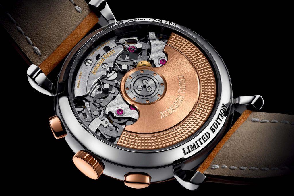 מנגנון השעון - קליבר 4409 של אודמר פיגה. מקור - Monochrome Watches.