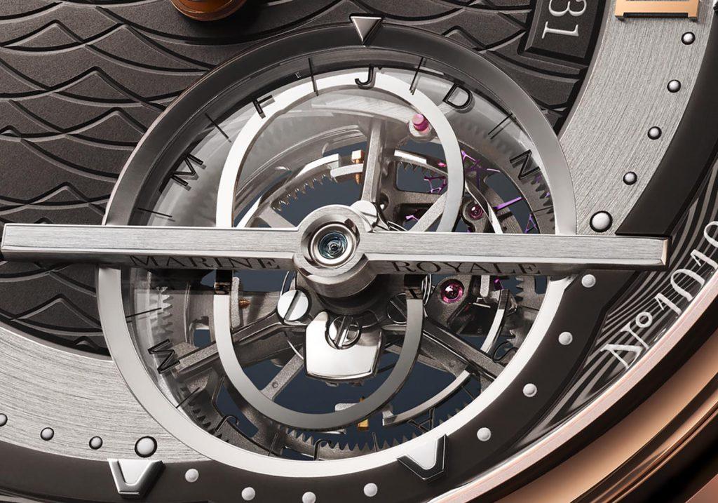 מנגנון הטורבילון של השעון. מקור - Watchesbysjx.