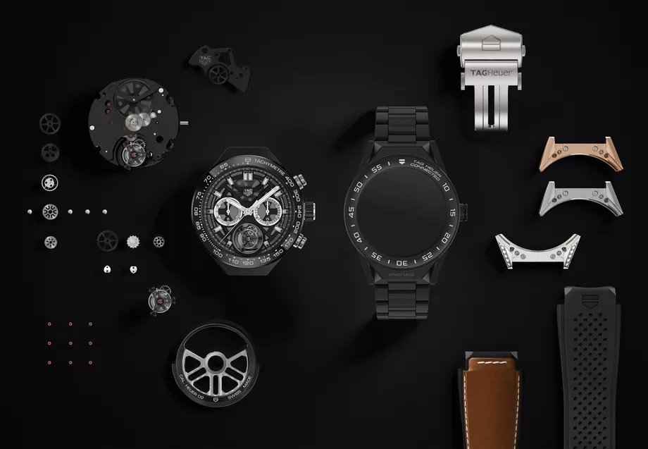 אפשרויות שונות לעיצוב השעון. מקור - TheVerge.