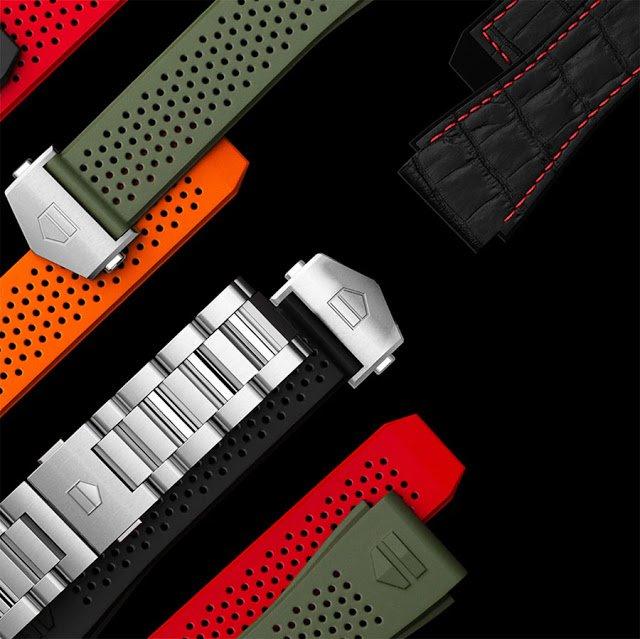 אפשרויות הצמיד/רצועה של השעון החדש. מקור - TimeandWatches.