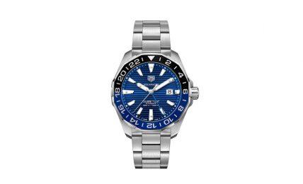 טאג הויר Aquaracer GMT 2020. מקור - Hodinkee.