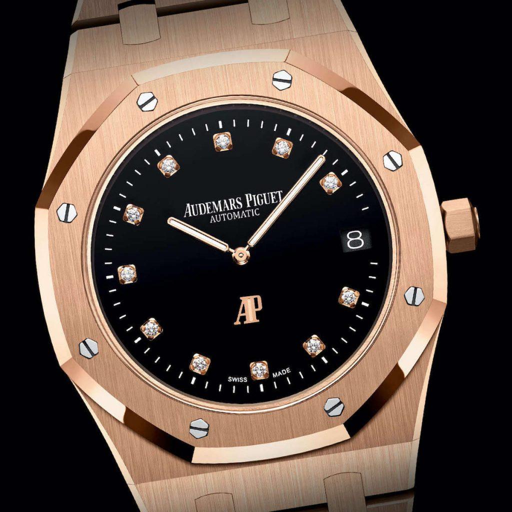 רויאל אוק Jumbo Extra-Thin Yoshida. מקור - Monochrome Watches.