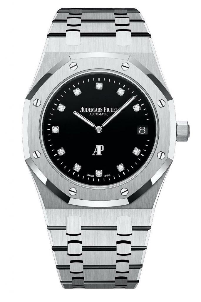 גרסת הפלטינה של השעון. מקור - Monochrome Watches.
