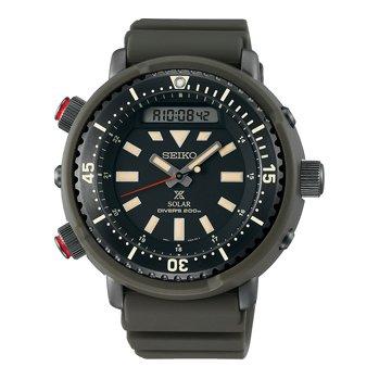 השעון ההיברידי בסדרה בגוון ירוק כהה. מקור - Watchtime.