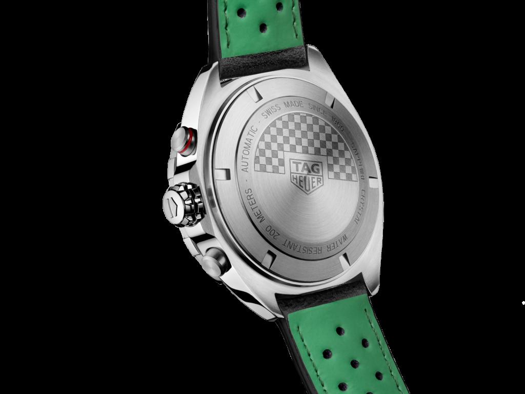 טאג הויר פרומולה 1 Racing ירוק. מקור - טאג הויר.