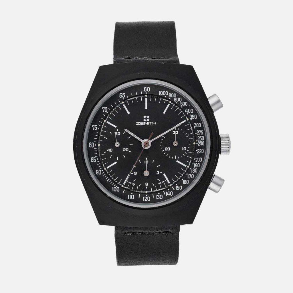 אב הטיפוס של השעון המסתורי של זניט. מקור - Revolution.