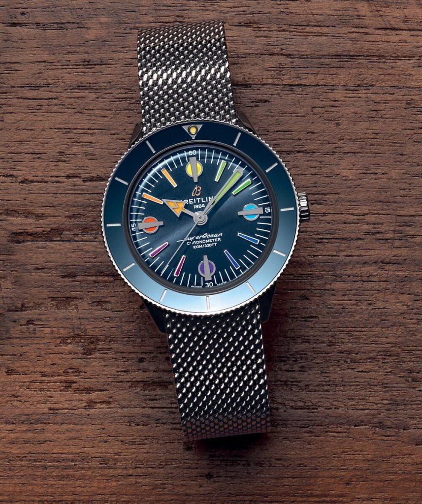 גרסת רצועת המש של השעון. מקור - Hodinkee.
